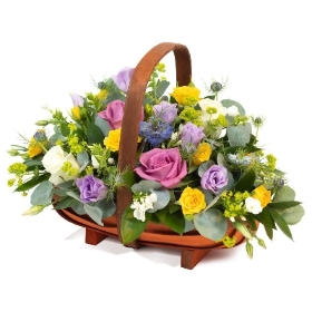 The Bright Bloom Basket