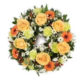 Large Funeral Wreath